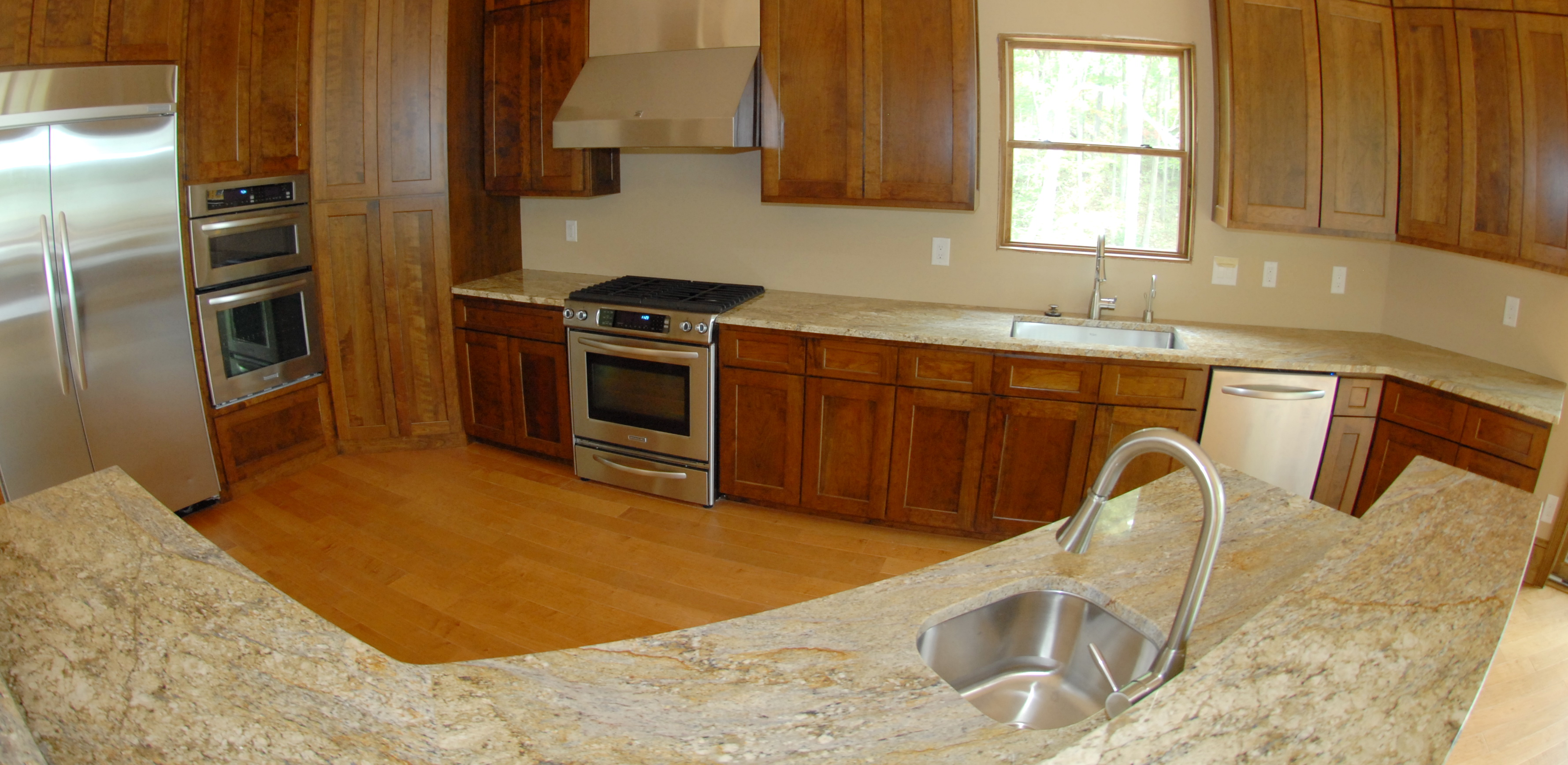 Mountain Lake Living Kitchen