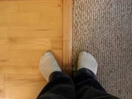 hardwood and carpet