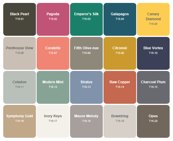 Paint Color Trends For 2016